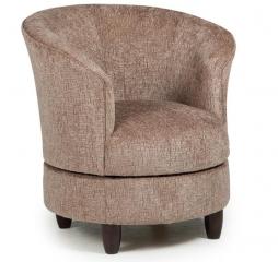 Dysis Swivel Barrel Chair by Best Home Furnishings