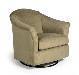 Darby Swivel Barrel Chair by Best Home Furnishings