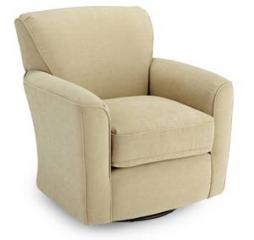 Kaylee Swivel Barrel Chair by Best Home Furnishings