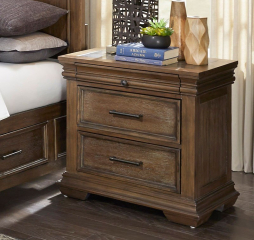 Narcine Nightstand by Homelegance