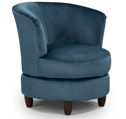 Palmona Swivel Barrel Chair by Best Home Furnishings