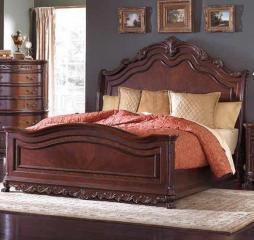 Deryn Park Sleigh Bed by Homelegance