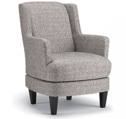 Violet Swivel Barrel Chair by Best Home Furnishings