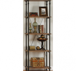 Factory Bookcase by Homelegance