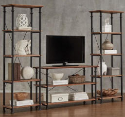 Factory Sofa Table/TV Stand by Homelegance