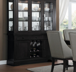 Reid Buffet and Hutch by Homelegance