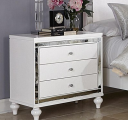 Alonza Nightstand by Homelegance