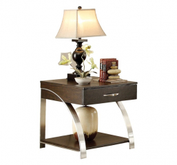 Tioga End Table by Homelegance