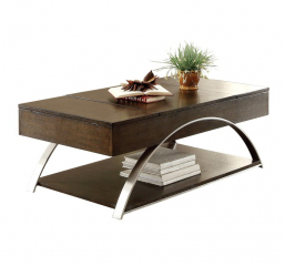 Tioga Lift Top Cocktail Table by Homelegance