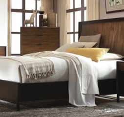 Kateri Curved Panel Bed by Legacy Classic
