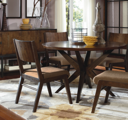Kateri Round Pedestal Table by Legacy Classic
