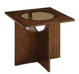 Akita End Table by Homelegance