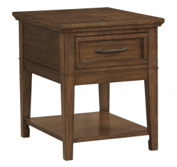 Whitley End Table by Homelegance