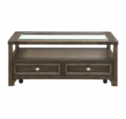 Auburn Cocktail Table by Homelegance