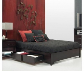 Nevis Simple Storage Bed by Modus