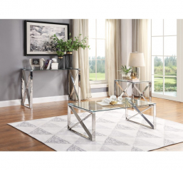 Rush Sofa Table by Homelegance