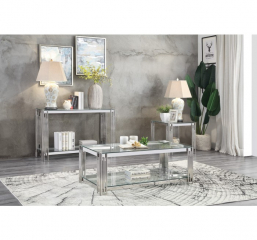 Porfirio Sofa Table by Homelegance