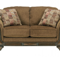 Montgomery Mocha Loveseat Signature Design by Ashley