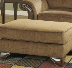 Montgomery Mocha Ottoman Signature Design by Ashley