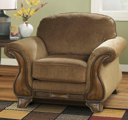 Montgomery Mocha Chair Signature Design by Ashley