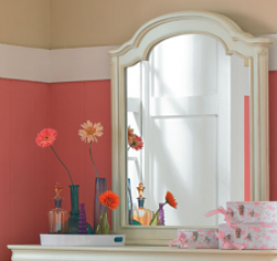 Charlotte Arched Dresser Mirror by Legacy Classic Kids