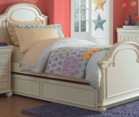 Charlotte Arched Panel Bed by Legacy Classic Kids