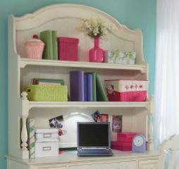 Charlotte Desk Hutch by Legacy Classic Kids