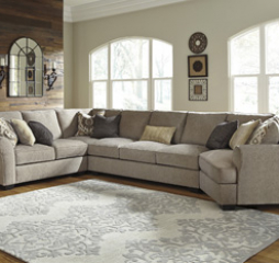 Pantomine Driftwood Sectional Signature Design by Ashley