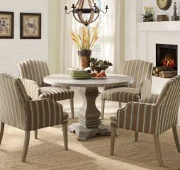 Euro Casual Round Dining Table by Homelegance