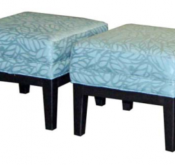 Athena Pair of Footstools by Jonathan Louis