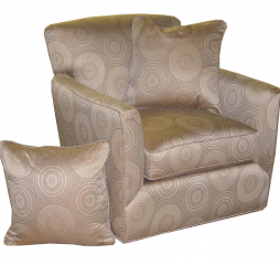 Artemis Leather Accent Chair by Jonathan Louis