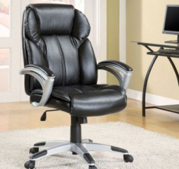 Transitional Black Office Chair by Coaster