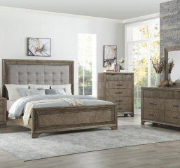 Caruth Queen Bed by Homelegance