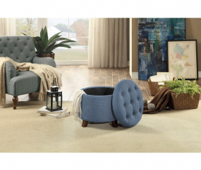 Cleo Storage Ottoman by Homelegance
