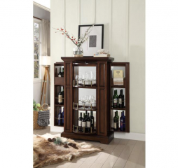 Snifter Wine Cabinet by Homelegance