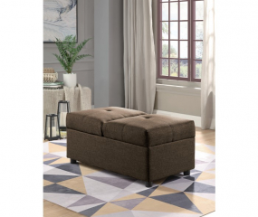 Denby Storage Ottoman/Chair by Homelegance