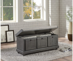 Woodwell Lift Top Storage Bench by Homelegance