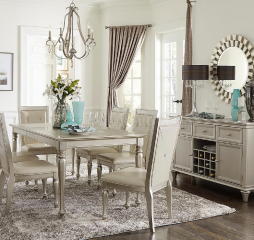 Celandine Dining Table by Homelegance