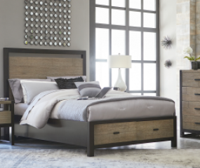 Helix Panel Bed w/ Storage by Legacy Classic