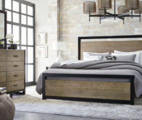 Helix Panel Bed by Legacy Classic