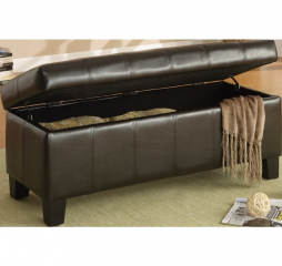 Clair Lift Top Storage Bench by Homelegance