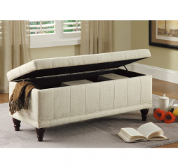 Afton Lift Top Storage Bench by Homelegance