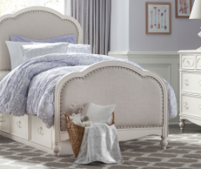 Harmony Victoria Upholstered Panel Bed by Legacy Classic Kids