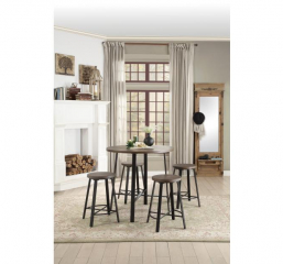 Chevre Round Counter Height Dining Table by Homelegance