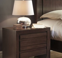 Element Nightstand w/ Charging Station by Modus
