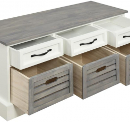 Three Drawer Storage Bench by Coaster