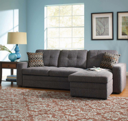 Gus Sleeper Sectional Sofa by Coaster