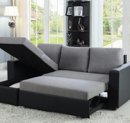 Everly Reversible Sleeper Sectional by Coaster