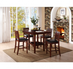 Galena Counter Height Five Piece Set by Homelegance