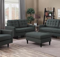 Kesson Mid Century Modern Sofa by Coaster